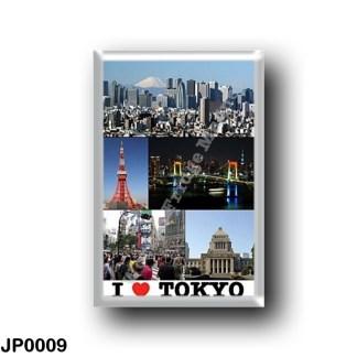 JP0009 Asia - Japan - Tokyo - I Love
