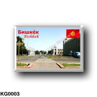 KG0003 Asia - Kyrgyzstan - Bishkek City