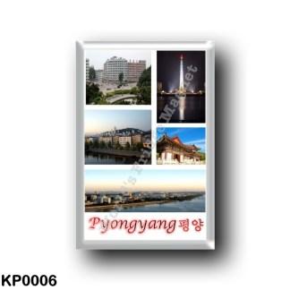 KP0006 Asia - North Korea - Pyongyang - Mosaic