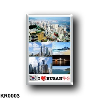 KR0003 Asia - South Korea - Busan - I Love