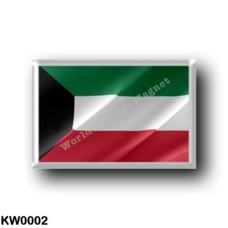 KW0002 Asia - Kuwait - Flag Waving