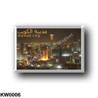 KW0006 Asia - Kuwait - City By Night