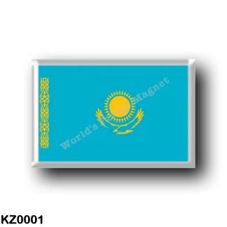 KZ0001 Asia - Kazakhstan - Flag