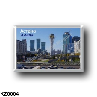 KZ0004 Asia - Kazakhstan - Astana - Panorama