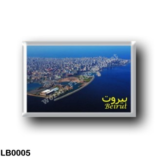 LB0005 Asia - Lebanon - Beirut City