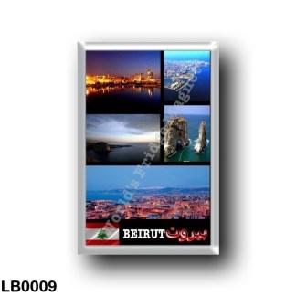 LB0009 Asia - Lebanon - Beirut - Mosaic