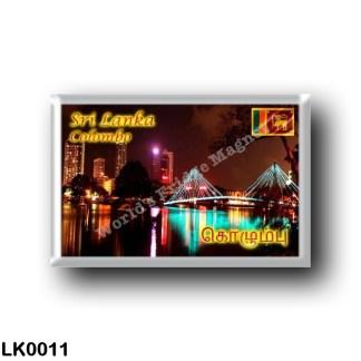 LK0011 Asia - Sri Lanka - Colombo - Beira lake at Night