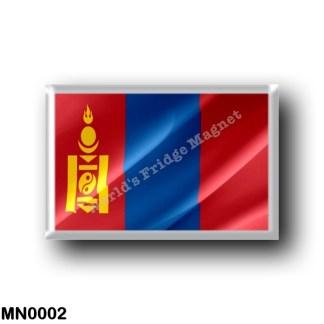 MN0002 Asia - Mongolia - Flag Waving