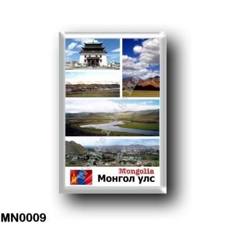 MN0009 Asia - Mongolia - Mosaic