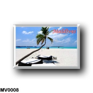 MV0008 Asia - Maldives - Main Beach
