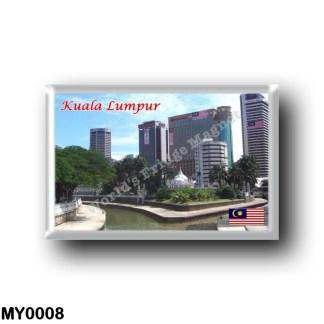 MY0008 Asia - Malaysia - Kuala Lumpur - Masjid Jamek