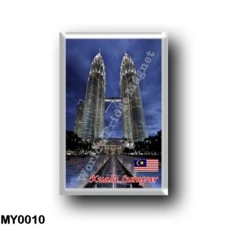 MY0010 Asia - Malaysia - Kuala Lumpur - Petronas Twin Towers