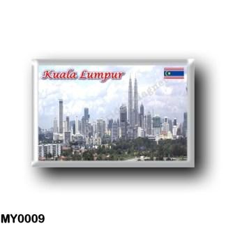 MY0009 Asia - Malaysia - Kuala Lumpur - Panorama