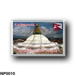 NP0010 Asia - Nepal - Kathmandu - Boudhanath Stupa