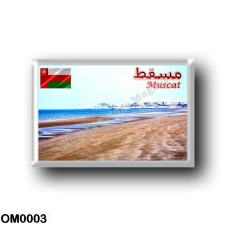 OM0003 Asia - Oman - Muscat - Beach