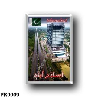 PK0009 Asia - Pakistan - Islamabad - View By Night
