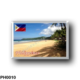 PH0010 Asia - Philippines - Nacpan Beach