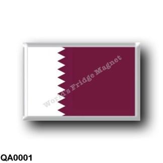QA0001 Asia - Qatar - Flag