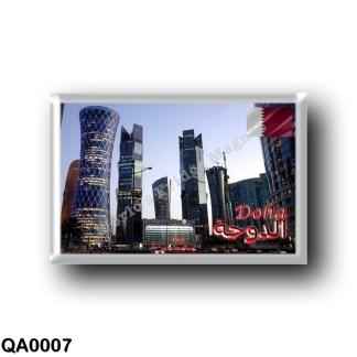 QA0007 Asia - Qatar - Doha - Tornado & Palm Tower