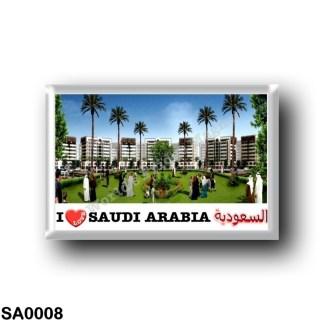 SA0008 Asia - Saudi Arabia - Qasrkhozam - I Love