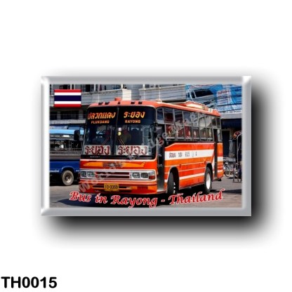 TH0015 Asia - Thailand - Rayong - Bus in Rayong