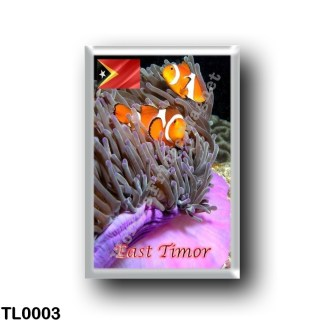 TL0003 Asia - East Timor - Anemonefish