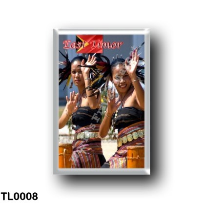 TL0008 Asia - East Timor - Timorese Dancers