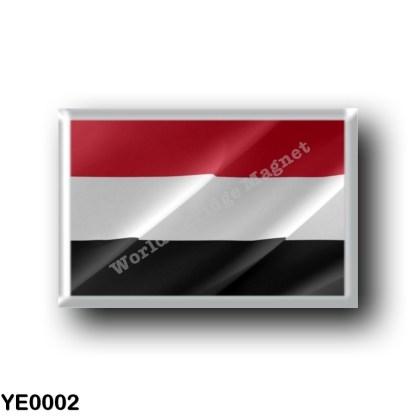 YE0002 Asia - Yemen - Flag Waving