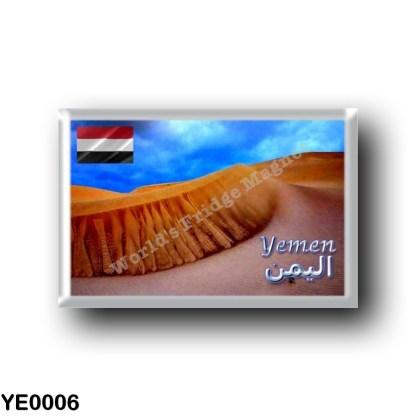 YE0006 Asia - Yemen - Sand Dunes