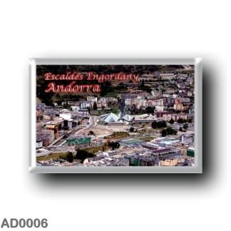 AD0006 Europe - Andorra - Escaldes - Engordany