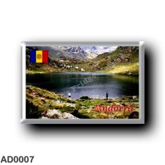AD0007 Europe - Andorra - Estany de tristaina de Baix