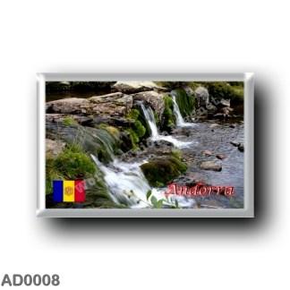 AD0008 Europe - Andorra - Estany de tristaina de Baix