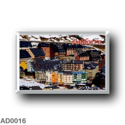AD0016 Europe - Andorra - Panorama