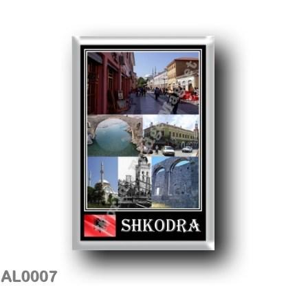 AL0007 Europe - Albania - Scutari - Mosaic