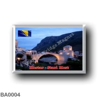 BA0004 Europe - Bosnia and Herzegovina - Mostar - Stari Most