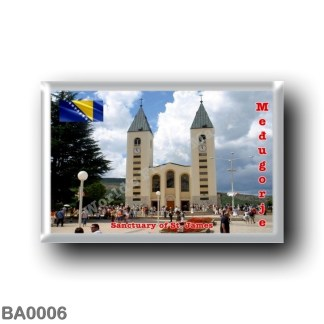 BA0006 Europe - Bosnia and Herzegovina - Međugorje - parish of Saint James