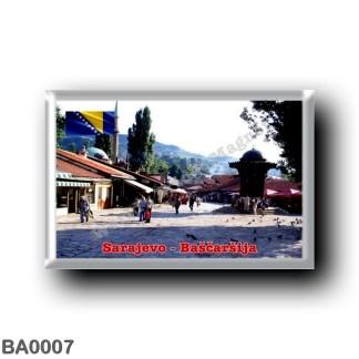 BA0007 Europe - Bosnia and Herzegovina - Sarajevo - Bašcaršija
