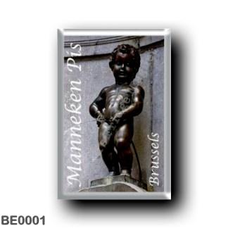 BE0001 Europe - Belgium - Brussels - Bruxelles - Manneken Pis