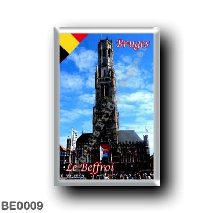 BE0009 Europe - Belgium - Bruges - Le Beffroi