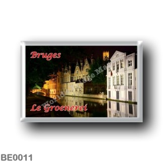 BE0011 Europe - Belgium - Bruges - Le Groenerei