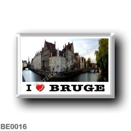 BE0016 Europe - Belgium - Bruges - Le Spiegelrei et le Langerei