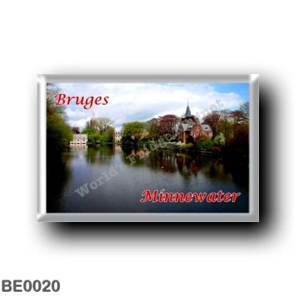 BE0020 Europe - Belgium - Bruges - Minnewaterl