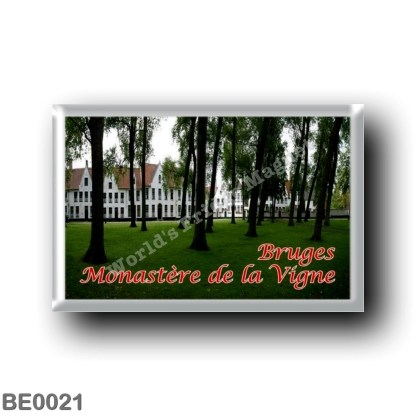 BE0021 Europe - Belgium - Bruges - Monastère de la Vigne