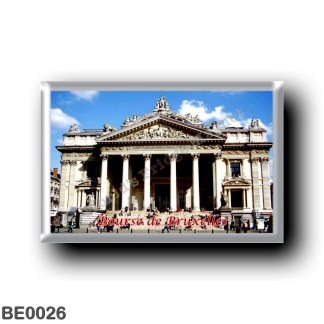 BE0026 Europe - Belgium - Brussels - Bruxelles - Bourse