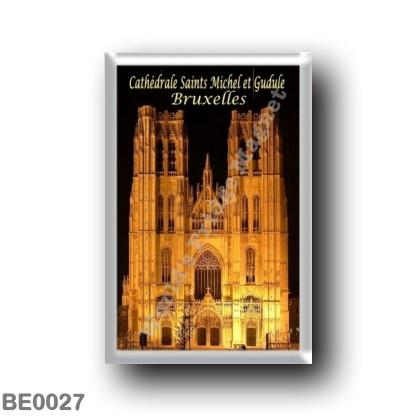 BE0027 Europe - Belgium - Brussels - Bruxelles - Cathédrale Saints-Michel-et-Gudule