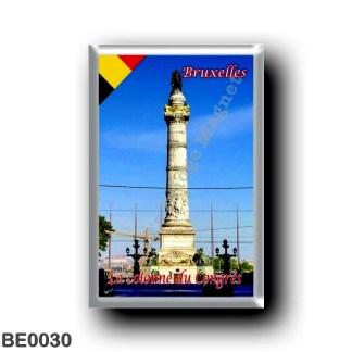 BE0030 Europe - Belgium - Brussels - Bruxelles - La colonne du Congrès