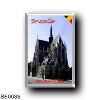 BE0035 Europe - Belgium - Brussels - Bruxelles - Notre Dame du Sablon