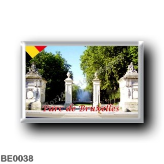 BE0038 Europe - Belgium - Brussels - Bruxelles - Parc de Bruxelles