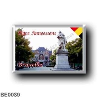 BE0039 Europe - Belgium - Brussels - Bruxelles - Place Anneessens