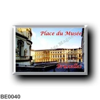 BE0040 Europe - Belgium - Brussels - Bruxelles - Place du Musée